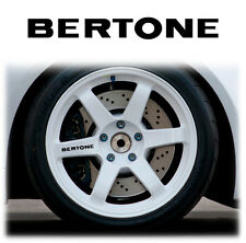 OPEL / VAUXHALL BERTONE ALLOY WHEEL WHEELS STICKERS DECALS GRAPHICS X6