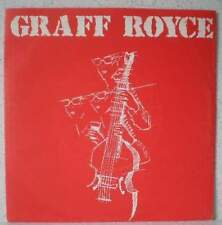 "GRAFF ROYCE Women, alcohol, rock & roll RARE 7"" 1985 minimal synth/wave BELGIUM"
