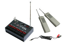 Dual Modes Long Range 2000m 12 Cue Wireless Fireworks Firing System-MS12QSL