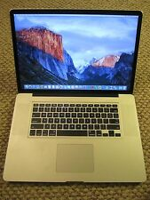 Apple Macbook Pro 17in late 2011 16GB, SSD, low cycles, loaded!