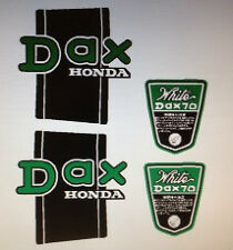 HONDA ST70 DAX WHITE RESTORATION DECAL SET
