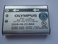 Batterie D'ORIGINE OLYMPUS Li-60B 3.7V 680mAh GENUINE Battery ACCU NEUVE
