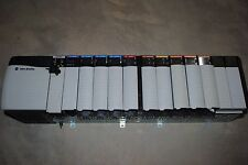 ALLEN BRADLEY CONTROLLOGIX LOADED 13 SLOT RACK COMPLETE  SYSTEM WITH 1756-L63
