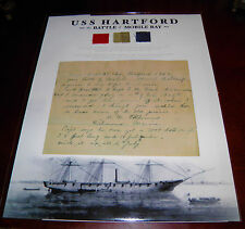 USS Hartford Flag Remnants From Admiral Farragut's Famous Flagship