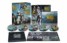 Star Wars The Clone Wars Complete Series Seasons 1-5 Collector's Blu-ray Box Set