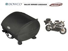 Dowco Fastrax Motorcycle Tail Bag Saddlebags Rear Seat Mounted Luggage Sportbike