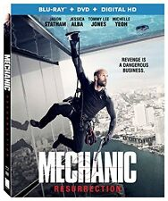 MECHANIC RESURRECTION (4K ULTRA HD) - Blu Ray -  Region free