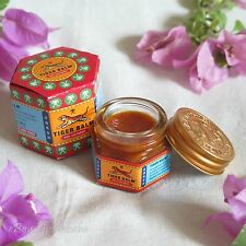 19g Tiger Balm Red - Relief of Muscular Aches Pain Sprains Ointment Massage Rub