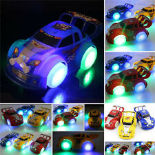 Funny Flashing Music Racing Car Electric Automatic Toy Boy Kid Birthday Gift LAU