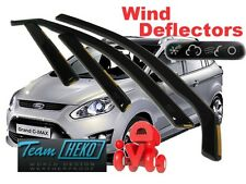 FORD GRAND C-MAX 5D 2011R.- (+OT) Wind Deflectors 4 pcs HEKO (15293)