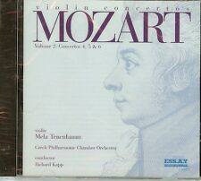 Mozart - Violin Concertos 4-6 by Mela Tenenbaum - CD - NEW