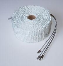 Exhaust Heat Wrap 50mm x 5m + 4 S/S Ties