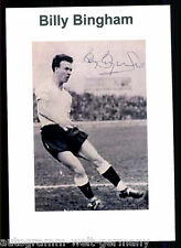 Billy Bingham Nordirland WM 1958 TOP Foto Orig. Sign. +G 9468