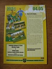 22/01/2005 Hitchin Town v Kings Lynn  (Item in very good condition, no obvious f