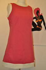 "Mod scooter 1960s reproduction ""Dusty"" dress by Pop Boutique, hot pink 10-12"