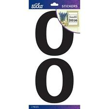 Scrapbooking Crafts Stickers Stickos Number X 2 Large Black 0