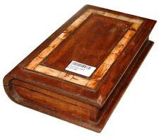 BOX PORTAGIOIE A LIBRO, IN MASSELLO MODANATO IN OSSO.