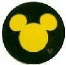 Disney Pin: WDW Hidden Mickey Collection - Mickey Icon Yellow