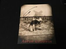 Ghost Adventures Aaron Goodwin Autograph 8x10 Auto Travel channel