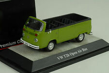 VW Volkswagen T2b open air bus green grün 1:43 Premium classixxs