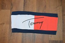 New No Tags Vintage VTG TOMMY HILFIGER Womens Small Spell Out Bandeau Top