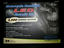 CYRON H4 Retrofit LED Motorcycle Headlight Kit MADE in USA 2500 Lumens Output
