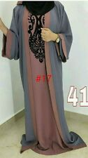 New open front abayas/robe/islamique wear/les femmes saoudiennes robe. taille 54.56.58.---2016