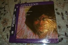 NANCY WILSON, For Once In My Life & Who Can I Turn To DOUBLE LP