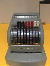 Vintage Hall-Welter Co SPEEDRITE Check Printer Writer Stamper Printing Machine