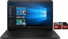 "HP Gamer Notebook ~ 17.3"" ~ AMD A8-7410 ~ 8GB RAM ~ 1TB HDD~ DVD- Windows 10"