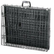 LARGE EXTRA LARGE BREED Cage 48 x 29 x 32 Metal Folding XXL Big Dog K9 Fold Up