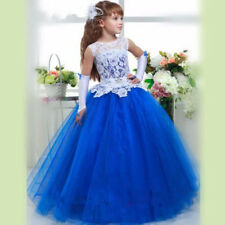Flower Girl Dresses for Princesses Pageant Wedding Birthday Prom Party Christmas