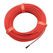 New 20m Minco 12K 33 Ohm/m Carbon Fiber Underfloor Heating Cable Floor Warming