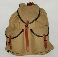 WWII 2 GERMAN ARMY HEER ELITE MOUNTAIN TROOPS SOLDIERS CANVAS RUCKSACK