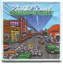 GRATEFUL DEAD shakedown street EMBROIDERED IRON-ON PATCH **FREE SHIPPING** p1969