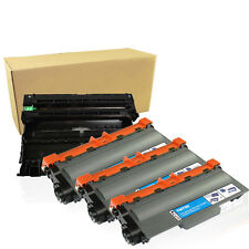 1PK DR720 Drum + 3 PK TN750 Toner FOR Brother TN750 MFC-8710DW HL-5470DW 5450DN