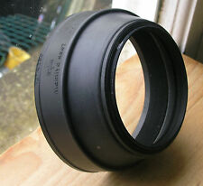 Mamiya Rb67 flexible rubber  77mm screw in  Lens hood m77