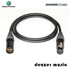 0,3m XLR Digital-Kabel BINARY Neutrik Gold/AES/EBU 110 Ohm Sommer Cable/HIGH END