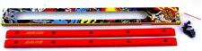 SANTA CRUZ Rails Slimline Siderails Red Skateboard Oldschool Pool