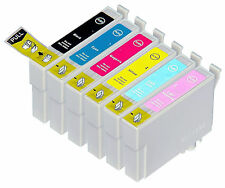 6PK Full Color Hi-Yield Ink For Epson 77 78 T0771 - T0776 T0781 - T0786 R280 380