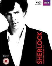 Sherlock Complete BBC Series Season 1+2+3 Blu-ray Boxset Benedict Cumberbatch
