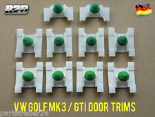 VW GOLF MK3 / GTI / VENTO DOOR MOULDING TRIM CLIPS