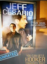 Jeff Cesario - You Can Get a Hooker Tomorrow Night NEW! DVD, LAST COMIC STANDING