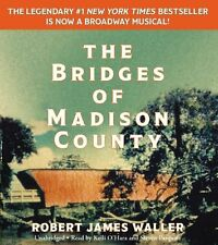 The Bridges of Madison County by Robert James Waller (Audio CD – Audiobook) NEW