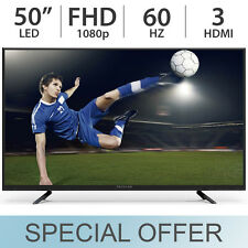 "Proscan 50"" inch 1080p FULL HD 60Hz LED LCD TV w/ 3 HDMI & VGA PLDED5069 - NEW!"