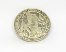 2000 From the Mind of Man All Things Are Possible 1 oz .999 Fine Silver Medal