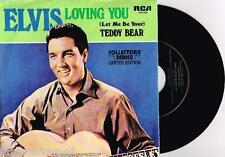 "ELVIS PRESLEY - LOVING YOU - 7"" 45 VINYL RECORD w PICT SLV"