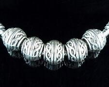 30pcs Tibetan Silver Cute Beads Fit Bracelet ZN161