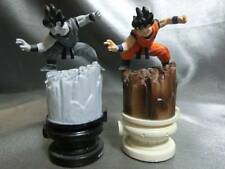 DRAGON BALL CHESS gokou goku 2 figures set ECHECS 2003 MEGAHOUSE rare JAPAN