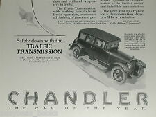 1924 CHANDLER Motor Car advertisement, Chandler Six sedan, Pikes Peak Motor